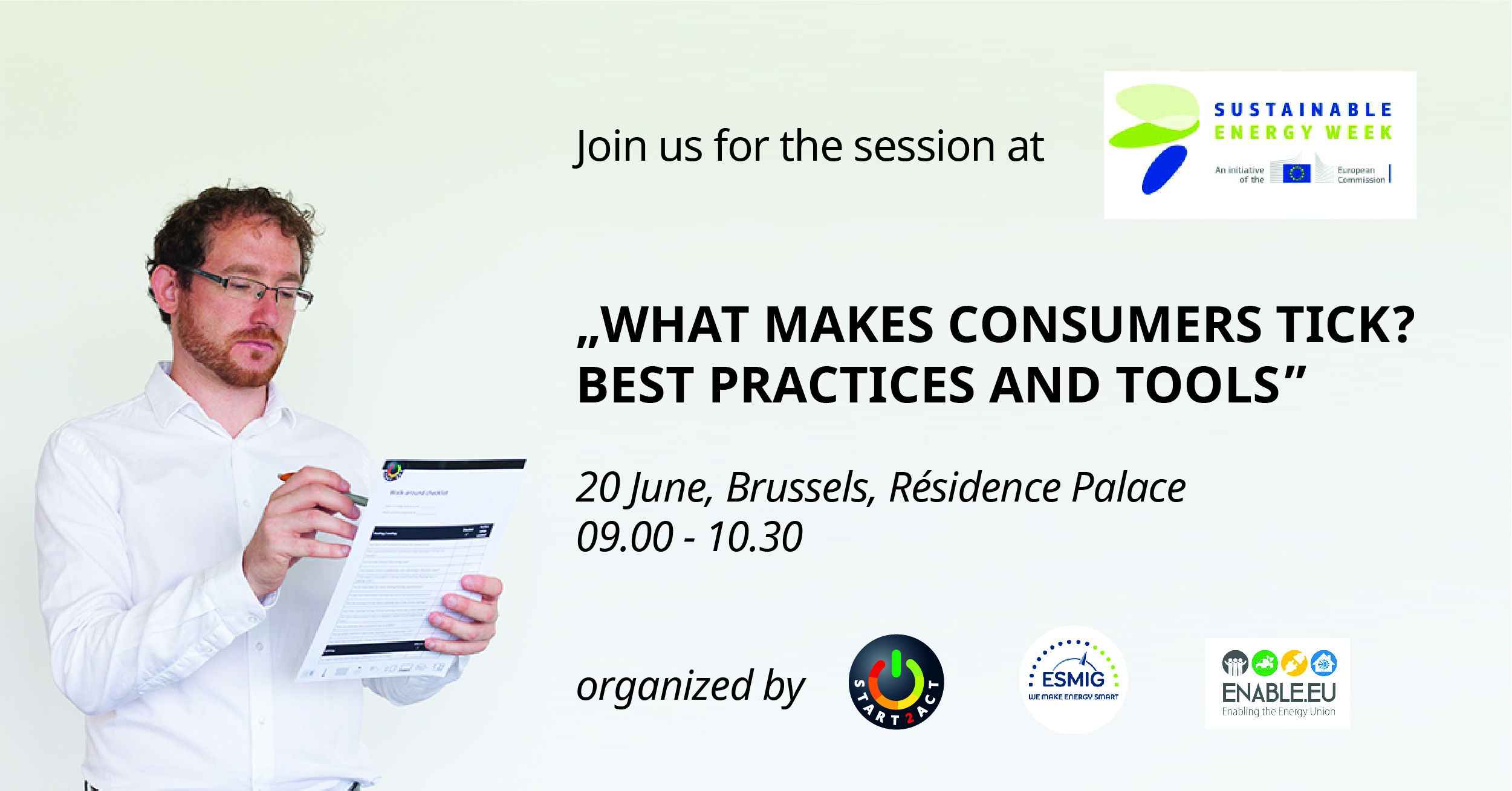 What makes consumers tick? Best practices and tools - EUSEW